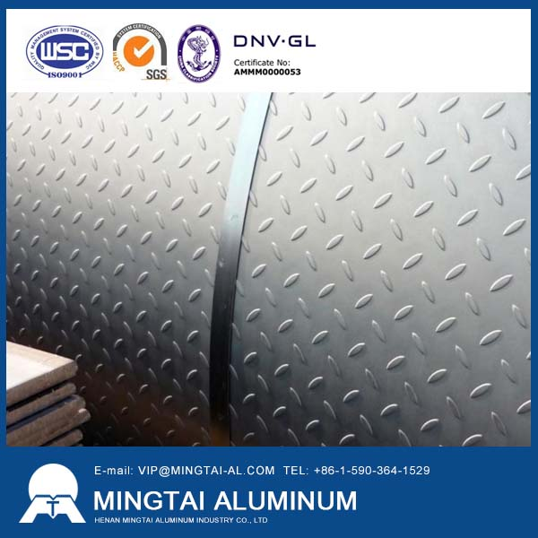 Application of Non-slip aluminum plate