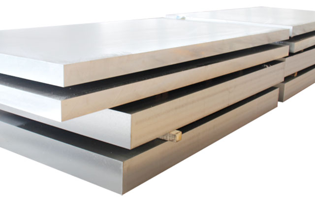 Medium Thick Aluminum Plate