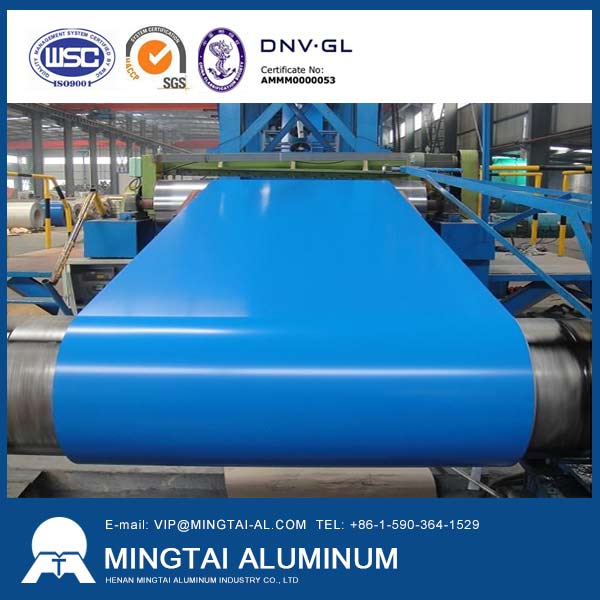 manufacturer of color coated aluminum