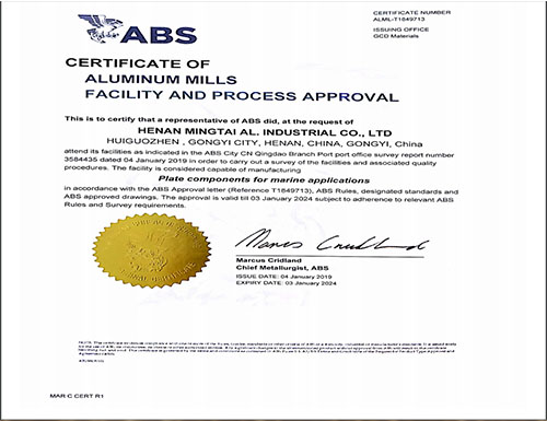 5083 Aluminum Sheet with ABS Certificate Wholesale