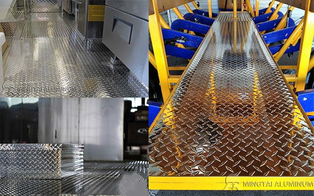Mingtai Aluminum Checker Plate Manufacturer with High Credit and Strong Strength